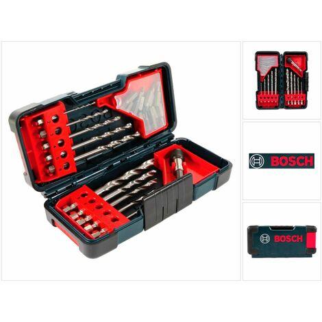 Bosch Juego de brocas y puntas en Tough Box - 23 unidades ( 2607019912 )