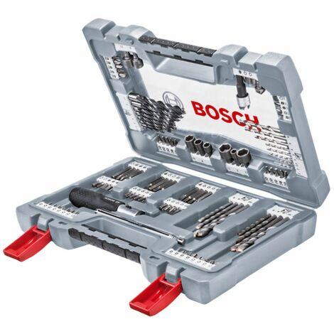 Bosch Juego de puntas, juego de brocas, 105 pzas. Conjunto premium