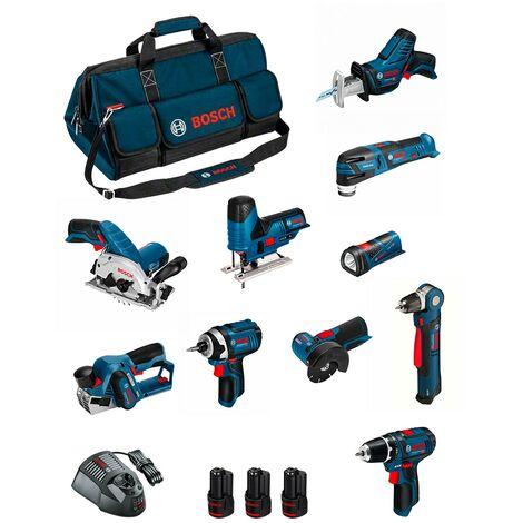 BOSCH Kit BMKB10-28DD3 (GSR12V-15+GDR12V-10+GKS12V-26+GWS12V-76+GST12V-70+GOP12V-28+GSA12V-14+GWB12V-10+GLI12V-80+GHO12V-20...)