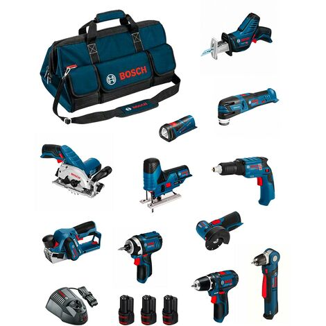 BOSCH Kit BMKB11-28AD3 (GSR12V-15+GDR12V-105+GKS12V-26+GWS12V-76+GST12V-70+GOP12V-28+GSA12V-14+GWB12V-10+GTB12V-11+GHO12V-20)