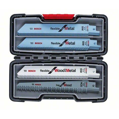 """main image of """"Bosch Kits de 20 lames de scie sabre à métaux et à bois, Tough Box, 20 pièces - 2607010902"""""""