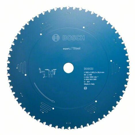 Bosch Kreissägeblatt Expert for Steel, 355 x 25,4 x 2,6 mm, 90 2608643063