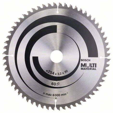 Bosch Lama per seghe circolari Multi Material 216 x 30 x 2,5 mm, 80 denti