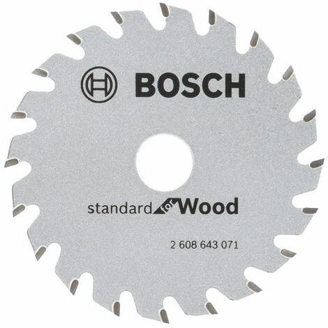BOSCH Lame Ø85mm de scies circulaires portatives Optiline Wood - 2608643071