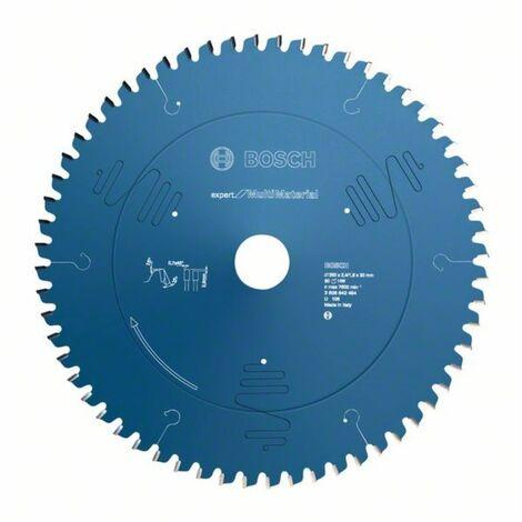 Bosch Lame de scie circulaire ? 254 x30 x2,4 mm Expert for Multi Material 80 dents