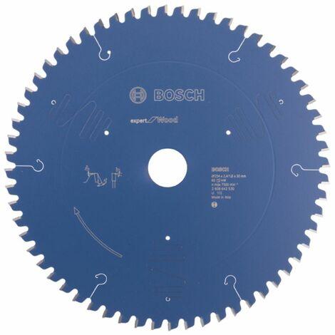 Bosch Lame de scie circulaire ? 254x30mm Expert pour bois 60 dents