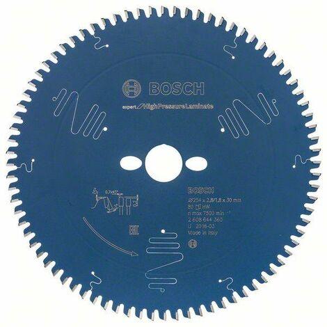 Bosch Lame de scie circulaire EX TR B, 254x30-80, 254 x 30 mm, 80 dents - 2608644360