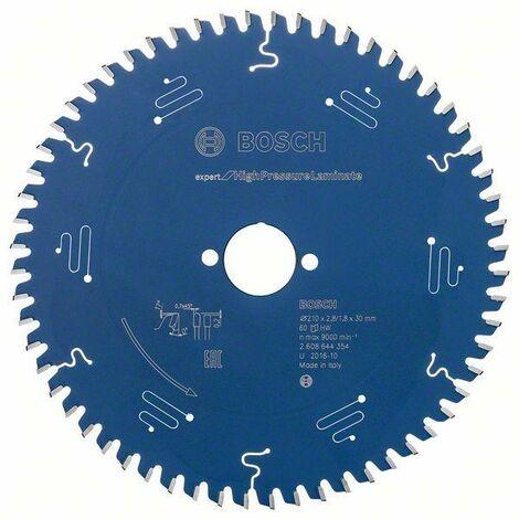 Bosch Lame de scie circulaire EX TR H, 210x30-60, 210 x 30 mm, 60 dents - 2608644354