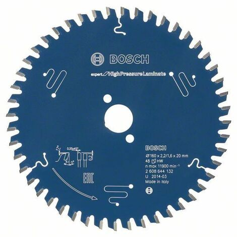 Bosch Lame de scie circulaire EX TR T, 250x30mm, 80 dents - 2608644359
