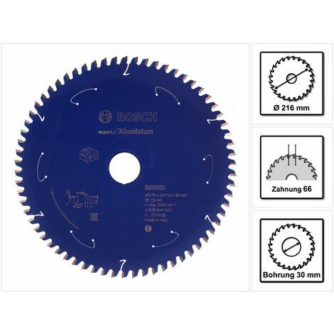 Bosch Lame de scie circulaire Expert for Aluminium 216 x 1,4 x 30 mm - 66 dents ( 2608644543 )