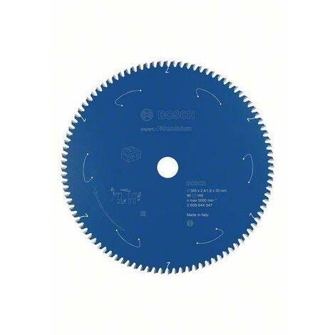 Bosch Lame de scie circulaire Expert for Aluminium pour scies sans fil 305 x 2,4/1,8 x 30 T96 - 2608644547