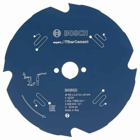 Bosch Lame de scie circulaire Expert for Fiber Cement. 190 x 30 x 2,2 mm. 4