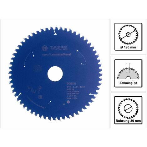 Bosch Lame de scie circulaire Expert for Laminated Panel pour scies sans fil 165 x 1,8/1,2 x 20 T48 - 2608644549