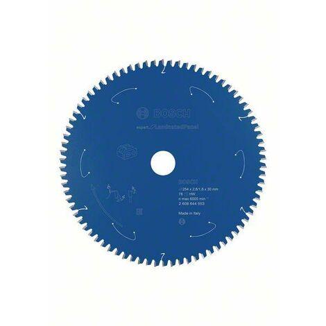 Bosch Lame de scie circulaire Expert for Laminated Panel pour scies sans fil 254 x 2,4/1,8 x 30 T78 - 2608644553