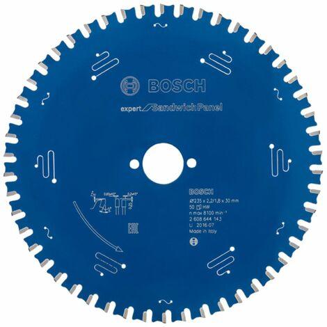 Bosch Lame de scie circulaire Expert for Sandwich Panel. 235 x 30 x 2,2 mm. 50