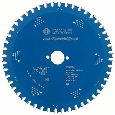 Bosch Lame de scie circulaire Expert for Sandwich Panel 240 x 30 x 2,6/1,6 x 48