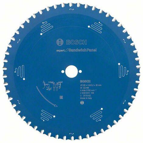 Bosch Lame de scie circulaire Expert for Sandwich Panel, 330 x 30 x 2,6 mm, 54 dents - 2608644146