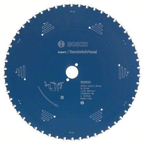 Bosch Lame de scie circulaire Expert for Sandwich Panel, 450 x 30 x 3,4 mm, 86 dents - 2608644148