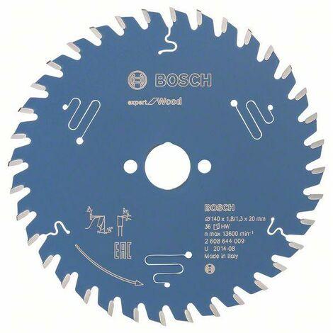 Bosch Lame de scie circulaire Expert for Wood, 140 x 20 x 1,8 mm, 36 dents - 2608644009
