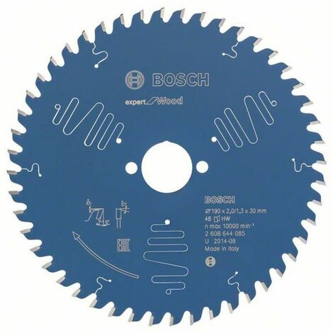 Bosch Lame de scie circulaire Expert for Wood 190 x 30 x 2,0/1,3 x 48