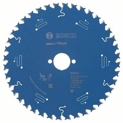 Bosch Lame de scie circulaire Expert for Wood 210 x 30 x 2,8/1,8 x 40