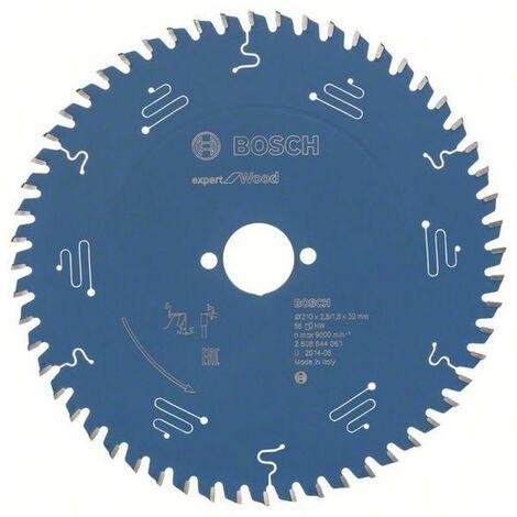 Bosch Lame de scie circulaire Expert for Wood 210 x 30 x 2,8/1,8 x 56