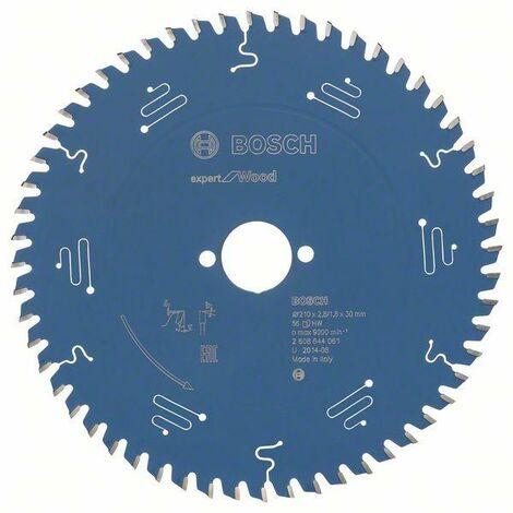 Bosch Lame de scie circulaire Expert for Wood, 210 x 30 x 2,8 mm, 56 dents - 2608644061