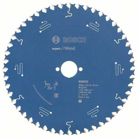 Bosch Lame de scie circulaire Expert for Wood, 240 x 30 x 2,8 mm, 48 dents - 2608644069