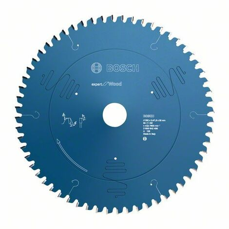 Bosch Lame de scie circulaire Expert for Wood, 250 x 30 x 2,4 mm, 40 dents - 2608644080