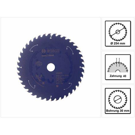 Bosch Lame de scie circulaire Expert for Wood 254 x 1,6 x 30 mm - 40 dents pour bois ( 2608644525 )