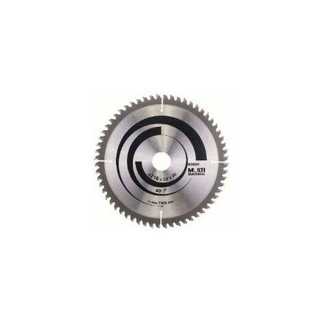 Bosch Lame de scie circulaire multi-matériaux. 254 x 30 x 3,2 mm.