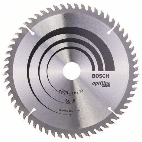 Bosch Lame de scie circulaire OPTLN 235X30/25 60T