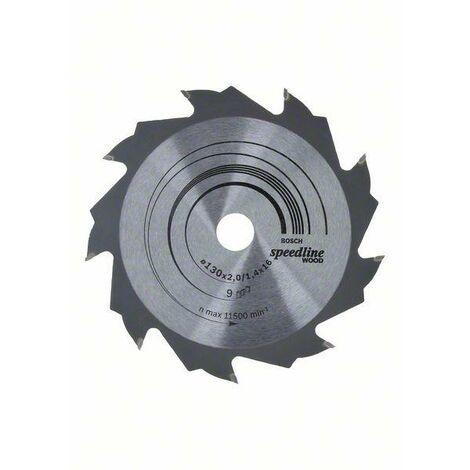 Bosch Lame de scie circulaire Speedline Wood, 130 x 16 x 2,2 mm, 9 - 2608640774