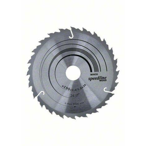 48 Bosch Lame de scie circulaire Expert for Wood 190 x 20 x 2,6 mm