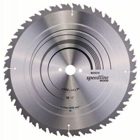Bosch Lame de scie circulaire Speedline Wood 400 x 30 x 3,5/2,5
