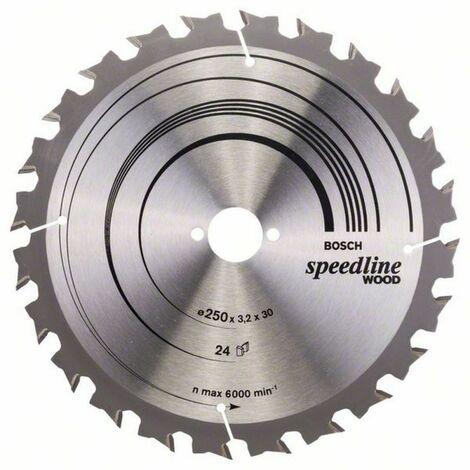 Bosch Lame de scie circulaire Speedline Wood, 400 x 30 x 3,5 mm, 36 - 2608640684