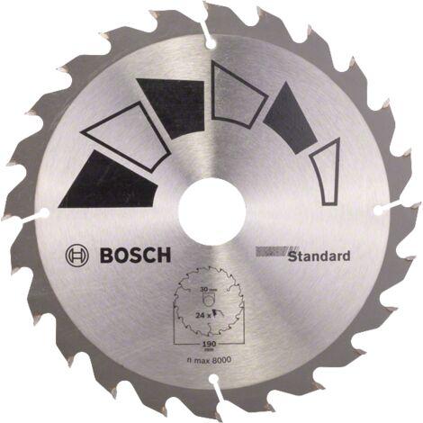 Bosch Lame de scie circulaire Standard for Wood 150x1.6//1x20 2608837674 24 Dents