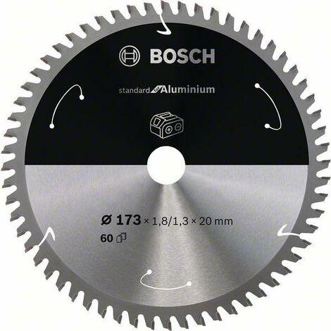 Bosch Lame de scie circulaire Standard for Aluminium pour scies sans fil 173x1.8/1.3x20, T60 - 2608837759