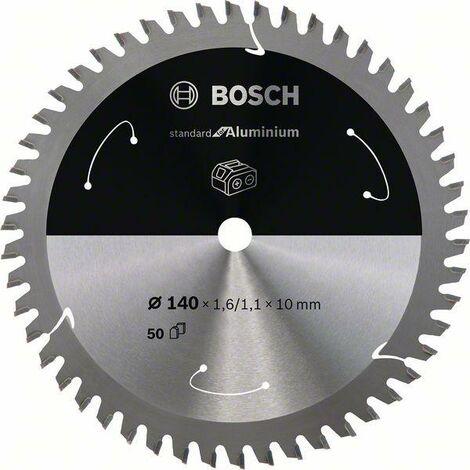Bosch Lame de scie circulaire Standard for Multimaterial pour scies sans fil 140x1.6/1.1x10, T50 - 2608837761