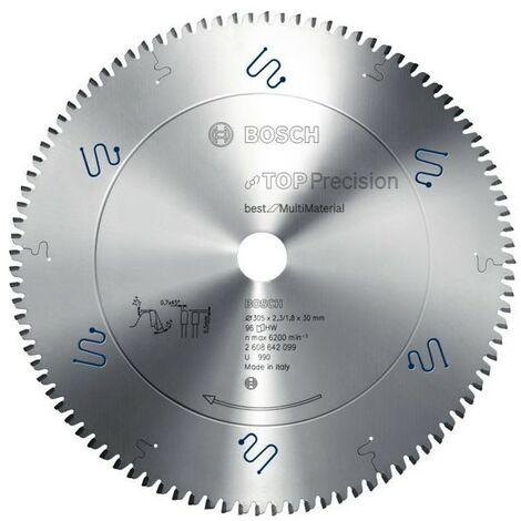 Bosch Lame de scie circulaire Top Precision Best for Multi Material 165 x 20 x 1,8 mm, 48