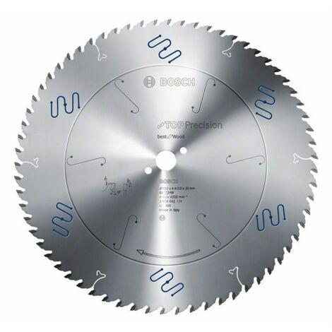 Bosch Lame de scie circulaire Top Precision Best for Wood 165 x 20 x 1,8/1,3 x 32