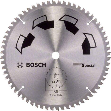 Bosch Lame scie circulaire Multimatériaux 235x16x2,5mm ; 64D