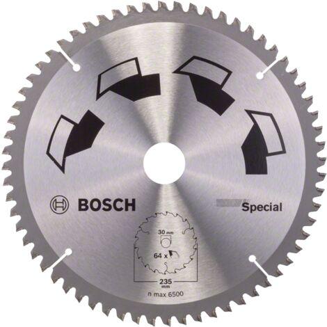 Bosch Lame scie circulaire Multimatériaux 235x30/25x2,5mm ; 64D