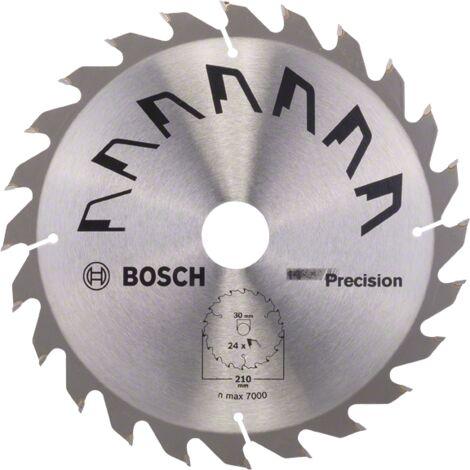 Bosch Lame scie circulaire Précision Bois 210x30x2,5mm ; 24D