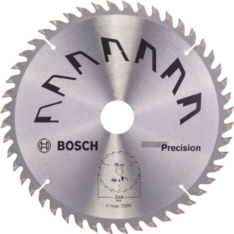 """main image of """"Bosch Lame scie circulaire Précision Bois 210x30x2,5mm ; 48D"""""""