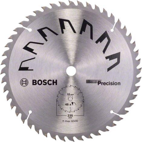 Bosch Lame scie circulaire Précision Bois 235x16x2,5mm ; 48D