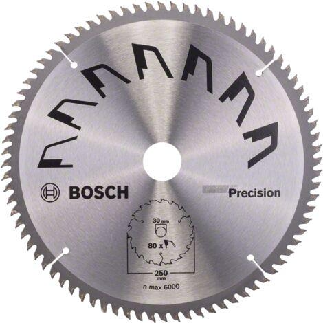 """main image of """"Bosch Lame scie circulaire Précision Bois 250x30x3,2mm ; 80D"""""""