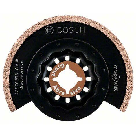 Bosch Lame segment à concrétion carbure Starlock pour coupes fines ACZ 70 RT5 70 mm