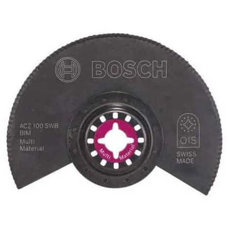 BOSCH Lame segment ondulée BIM Ø100mm - ACZ100SWB