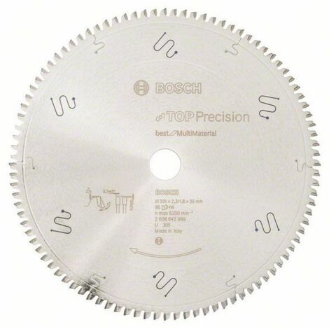 BOSCH Lames scie à onglet radiale Best for Multi Material - Multimatériaux